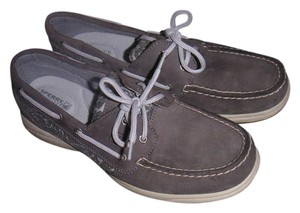 Sperry light grey Flats
