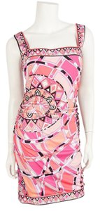 Emilio Pucci short dress Pink on Tradesy
