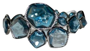 Ippolita Ippolita ROCK CANDY Wicked Hero London Blue Topaz Diamond Bracelet