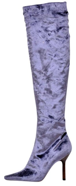 Item - Tom Ford For Velvet Over The Knee Boots/Booties Size US 7 Regular (M, B)