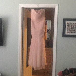Amsale Peach / Light Pink Dress