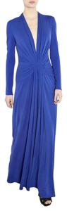 Blue Maxi Dress by ISSA London Dvf Tory Burch