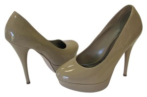 Brash Bash Nude Platform Pumps Neutral, Platforms