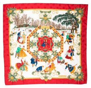 Hermès Hermes Jones deliver silk jacquard scarf
