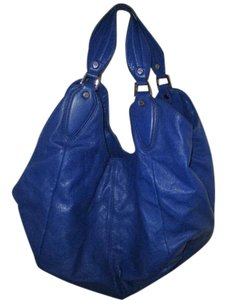 BCBGMAXAZRIA Large Blue Hobo Bag