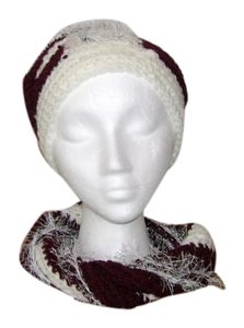 Designed and crocheted by me New, one of a kind, never used, hat and infinity neck warmer set