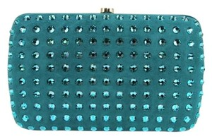 Gucci 310005 Turquoise 4460 Clutch