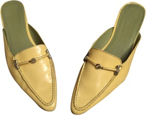 Cole Haan Yello Mules