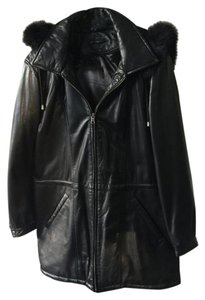 Tanners Avenue Lambskin Down Winter Vest Fur Coat