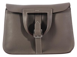Hermès Gray Hr.k0825.01 Clemence Shoulder Bag