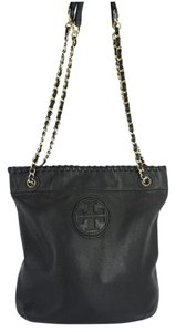 Tory Burch Book Leather Shoulder Bag
