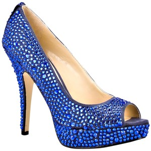 Enzo Angiolini Dark Blue Pumps