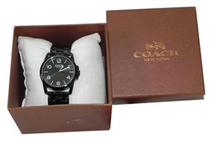 Coach COACH Sydney Classic Black Stainless Steel Watch 14501836