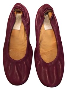 Lanvin Royal Purple Flats