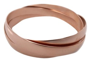 Shop One Twenty Rose Gold Tone Intertwined Bracelets