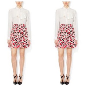 Alex + Alex Skirt red