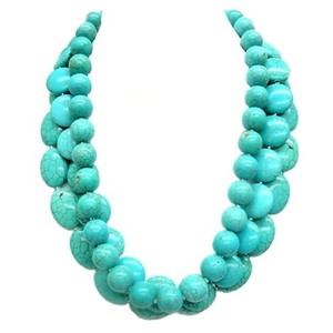 Shop One Twenty Triple Strand Turquoise Necklace