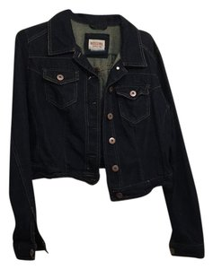 Mossimo Supply Co. Dark blue Womens Jean Jacket