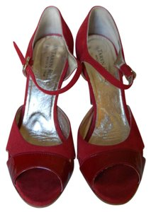 Taryn Rose Red Pumps
