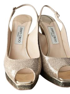 Jimmy Choo Gold Formal