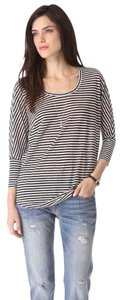 Joie Dolman Oversized Striped Linen Slouch Tunic