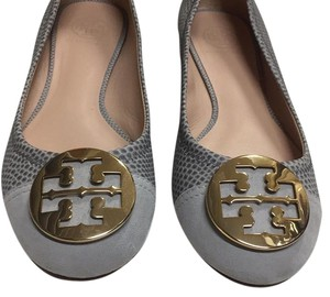 Tory Burch Gray Flats