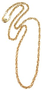 Chanel Gold Chain Link
