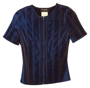 Chanel Top Blue