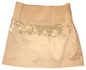 Free People Skirt Gold