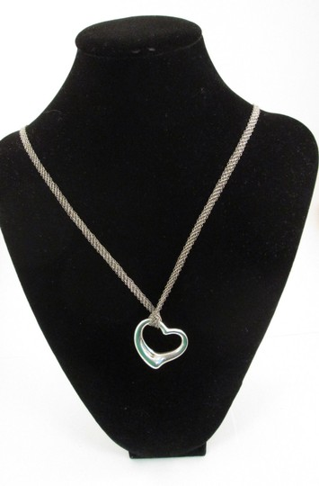 fa4759a34 Tiffany Mesh Silver Necklace Related Keywords & Suggestions ...