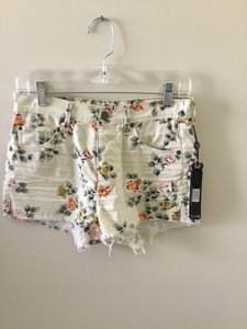 Citizens of Humanity Bottom Short Brand New Mini/Short Shorts Petite Rose Natural