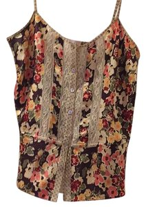 Rebecca Taylor Top Burgendy and pink
