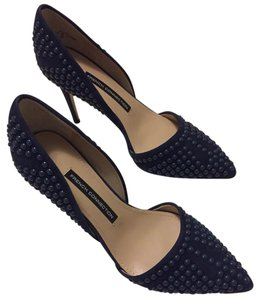 French Connection Dark Blue Pumps