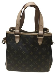 Louis Vuitton Satchel in Browns and tans