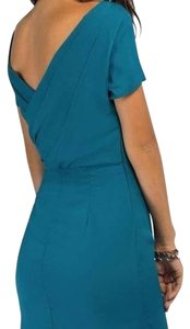 Tobi short dress Turquoise, Green, Blue Drape Night Out Fitted on Tradesy