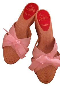 Christian Louboutin Summer Pink Wedges