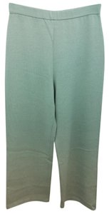 St. John Green Knit Pants