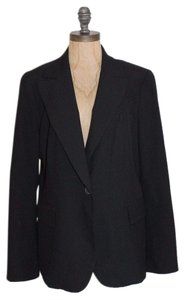 Zara Fitted Night Out Black Blazer