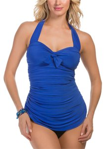 Miraclesuit MAGICSUIT Electric Blue Jules Slimming Tankini Top~16