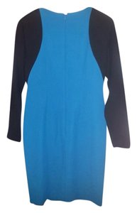Anne Klein short dress Teal/turquoise & Black on Tradesy