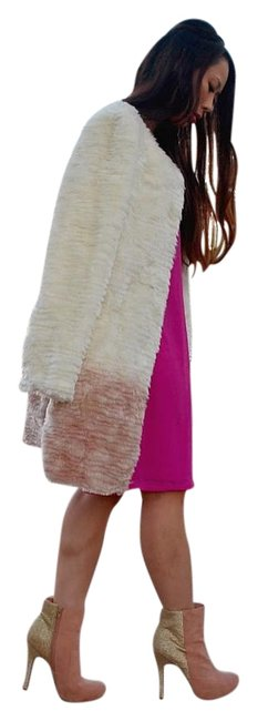 Item - Ivory Ombre Willow & Clay Coat Size 6 (S)