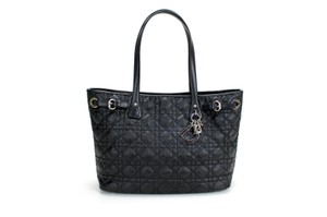 Dior Christian Lady Tote in Black