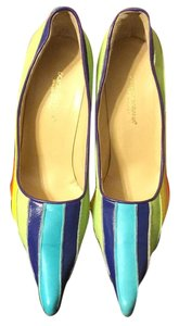 Dolce&Gabbana Blue/red/purple/yellow/orange/lime Pumps