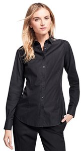 Brooks Brothers Non-iron Button Down Shirt black