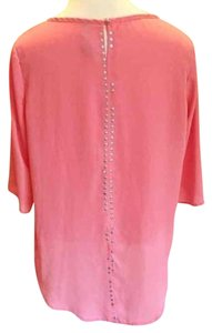 Francesca's Studded Top Pink, Coral