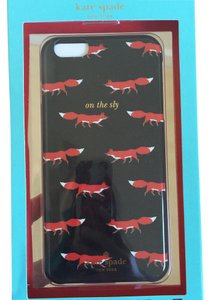 Kate Spade NWT WALKING FOXES IPHONE 6 (OR 6S) PLUS CASE