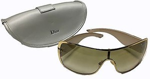 Dior Christian Dior Champagne Gold Indinight 2 Crystal Embellished Hso25