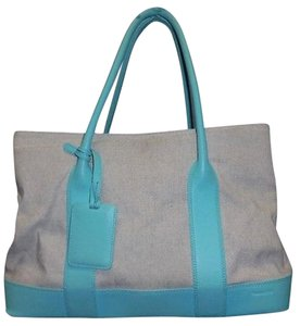 Tiffany & Co. Co Canvas With Tote in Beige