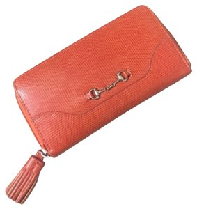Anthropologie Toss Faux Crocodile Wallet