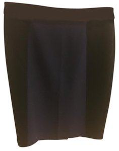 Halogen Pencil Seamed Pencil Skirt Black & Blue